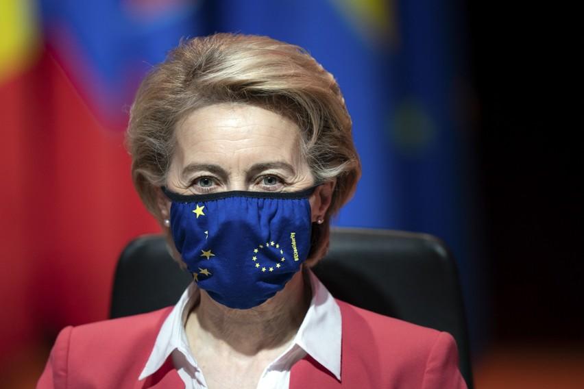 Ursula von der Leyen: 200 mln zostało zaszczepionych w Unii Europejskiej przynajmniej jedną dawką