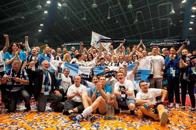 Część kibiców miała okazję świętować z zespołem we Wrocławiu, tuż po zdobyciu mistrzostwa Polski.