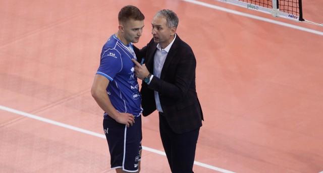 Trener Andrzej Kowal w rozmowie z Bartłomiejem Bołądziem
