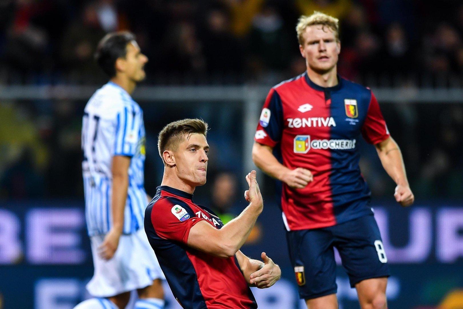 9e342f0f9 Krzysztof Piątek dotychczas we Włoszech w 21 meczach strzelił 19 goli.