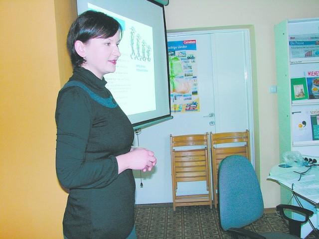 Spotkania klubu dyskusyjnego prowadziła Joanna Waleska.