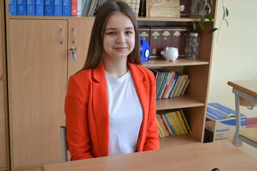 Próbny egzamin ósmoklasisty w SP nr 3 w Miastku