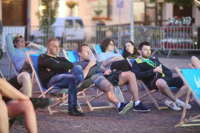 16.06.2021. Czeladzka Stefa Kibica w czasie meczu Euro 2020 Francja - Niemcy.  Zobacz kolejne zdjęcia. Przesuwaj zdjęcia w prawo - naciśnij strzałkę lub przycisk NASTĘPNE