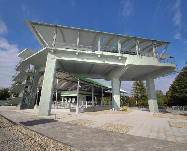 Wizualizacja nowej stacji Elki