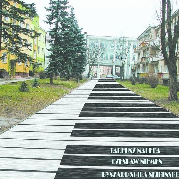 Ta wygląda wizualizacja Alei Gwiazd Bluesa, która powstaje w centrum Białegostoku