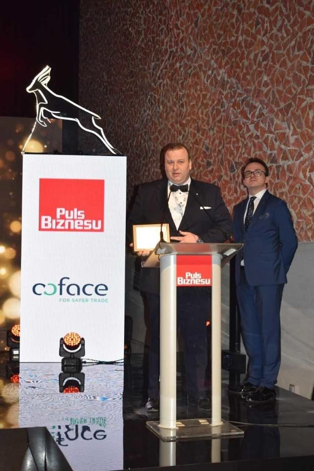 Na zdjęciu:  Dariusz Szczekocki, dyrektor ds. rozwoju w firmie Swimer.