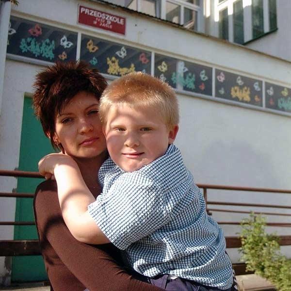 - Przedszkole to dla Szymka szansa dalszego rozwoju - mówi mama chłopca, Agata Płatek.