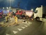 Groźny wypadek na węźle A4 pod Wrocławiem. Ogromne korki [ZDJĘCIA]