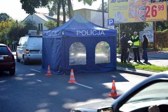 Wypadek miał miejsce 28 sierpnia 2012 roku na ulicy Kopernika. Na miejscu był nasz fotoreporter.