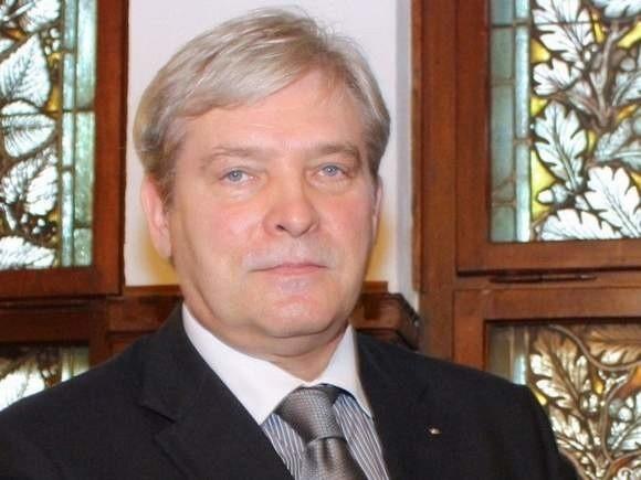 Andrzej Gazicki, prezes PGK Słupsk..