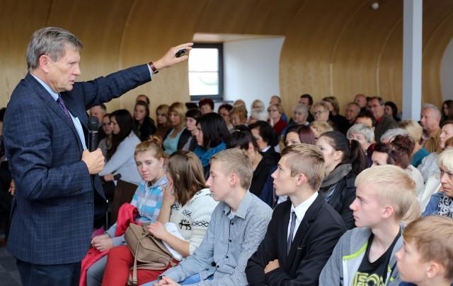 Leszek Balcerowicz spotkał się z mieszkańcami Sępólna