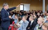 Leszek Balcerowicz w Sępólnie: - Będziemy mieli demokrację bez wyborców, czyli co to za demokracja? [zdjęcia, wideo]