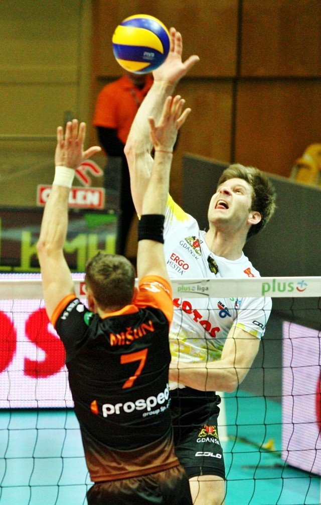 Gdańska drużyna nie będzie miło wspominać wyjazdu do Lubina