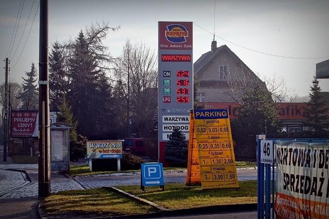Stacja benzynowa Pieprzyk przy ul. Krzemienieckiej