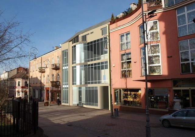 Tak będzie wyglądać nowa kamienica przy ulicy Sienkiewicza w Kielcach