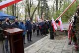 Kieleckie uroczystości w rocznicę Konstytucji 3-go Maja pod pomnikiem Stanisława Staszica w Parku Miejskim