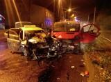 Pijany Ukrainiec kierujący busem zderzył się z taksówką