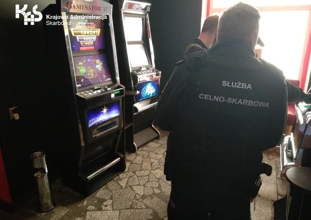 Nielegalny salon gier w Złocieńcu zlikwidowany