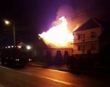 Tragiczny pożar w Krypnie Wielkim. Strażacy znaleźli ciało w spalonym domu