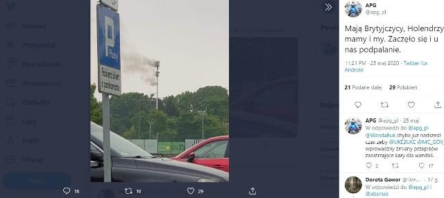 Dwa maszty telefonii komórkowej zostały podpalone w sobotę (23 maja) na Chojnach w Łodzi. To pierwszy taki przypadek w Polsce. Plaga podpaleń masztów ogarnia cały świat. Podpalacze wierzą, że nadajniki roznoszą koronawirusa, zwłaszcza te z sieci 5G.CZYTAJ DALEJ NA NASTĘPNYM SLAJDZIE