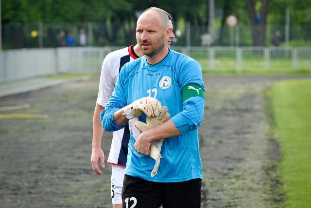 Bramkarz Piasta Marcin Feć bronił w Zabrzu znakomicie.