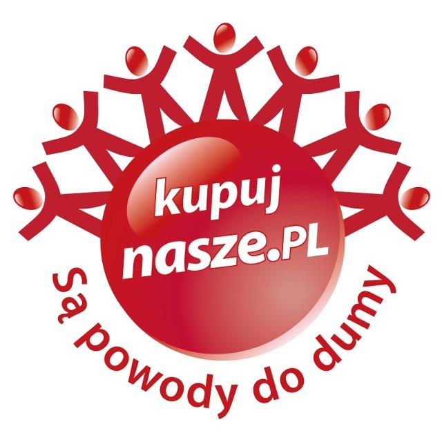 """Tak wygląda logo akcji """"Kupuj nasze - są powody do dumy"""""""