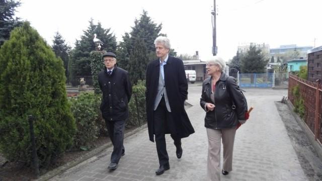 Prezydent miasta spotkał się z użytkownikami ROD im. Masłowskiego i wziął udział w wizji lokalnej.