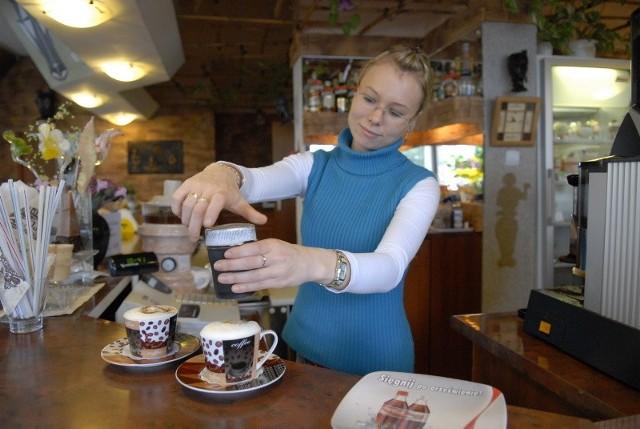 Do pracowników kawiarni niedawno dołączyła Kamila Kuligowska, która doskonale czuje klimat Nigeru