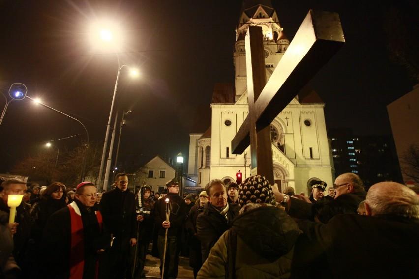 Droga Krzyżowa na Piotrkowskiej