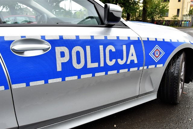 Kluczbork. Motocyklista zginął po uderzeniu w ogrodzenie cmentarza przy ul. Opolskiej