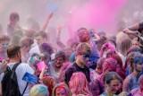 Festiwal Kolorów w Poznaniu: Tańce w chmurze kolorowych farb na Polanie Piknikowej na Malcie