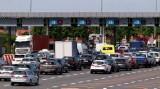Uwaga, olbrzymi korek przed bramkami na autostradzie A4!