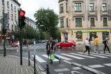 Kraków. Bez świateł na skrzyżowaniu Długiej i Szlak