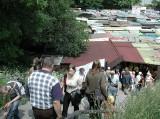Tak wyglądały targowiska na Śląsku i Zagłębiu 10 i 20 lat temu. Tanie ubrania, świeże warzywa i owoce, lokalne produkty