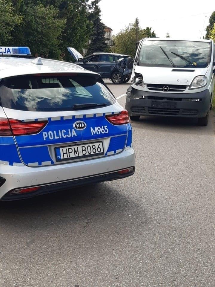 Wypadek w Jabłoni Kościelnej