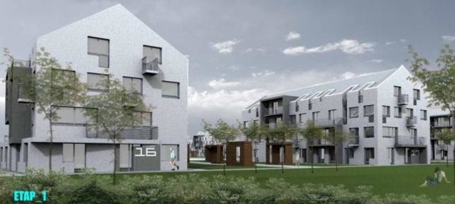 Szczecin: Przybędzie 600 nowych mieszkańTak będą wyglądały budynki na nowym osiedlu Wrzosowe Wzgórza.