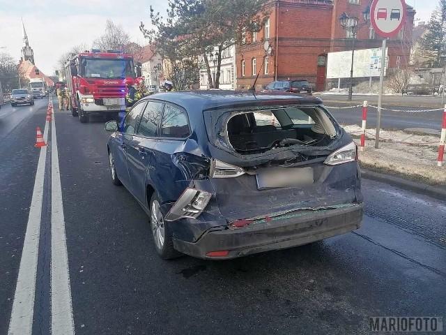 Wypadek w Niemodlinie.