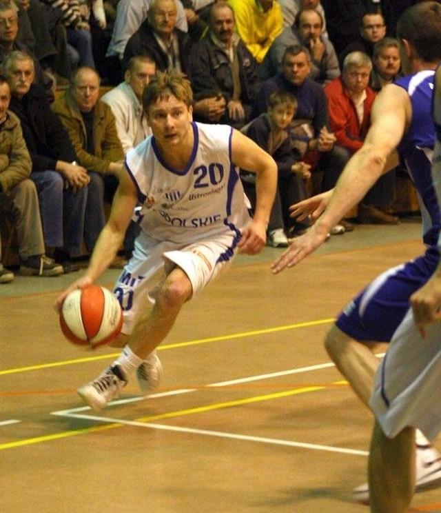 II liga pilki koszykowej. Mecz Pogon Prudnik - AZS Szczecin (82:106)
