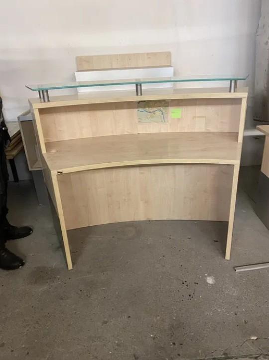 Oddam za darmo meble do biurka Biurko drewniane używane