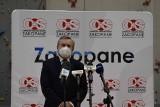 Minister Gliński w Zakopanem: będzie muzeum taternictwa i przykryty tor lodowy