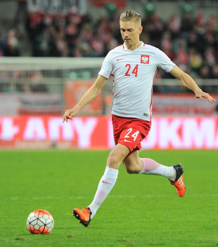 Bartosz Salamon ma na koncie dziewięć meczów w reprezentacji...