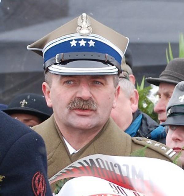 Pułkownik Andrzej Tuz.