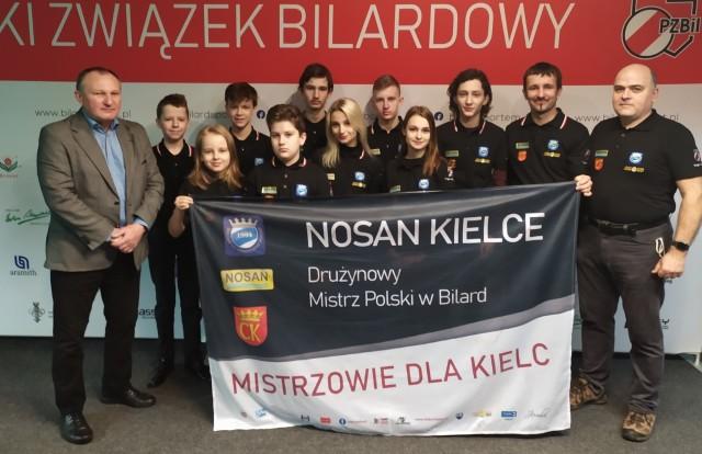Bardzo dobrze spisali się bilardziści Nosanu Kielce i Miłka Wiślica na Mistrzostwach Polski Juniorów w bilard.