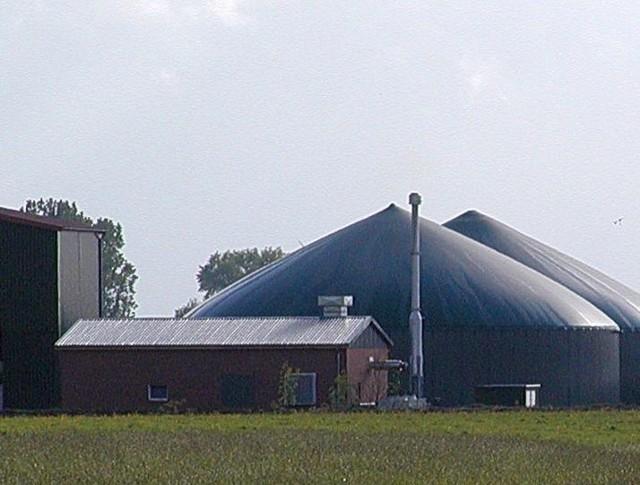Biogazowania w niemieckim Neuhaus. Podobna instalacja mogłaby powstać w Kleszczelach
