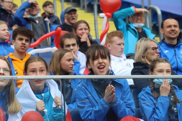 Kibice na Stadionie Śląskim podczas Drużynowych Mistrzostw EuropyZobacz kolejne zdjęcia. Przesuwaj zdjęcia w prawo - naciśnij strzałkę lub przycisk NASTĘPNE