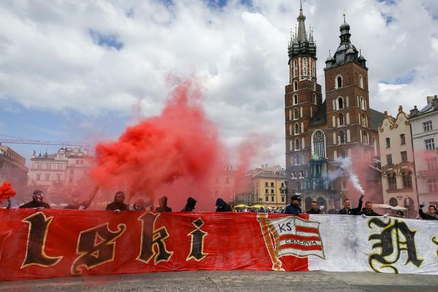 Kibice Cracovii świetowali jubileusz 115-lecia klubu