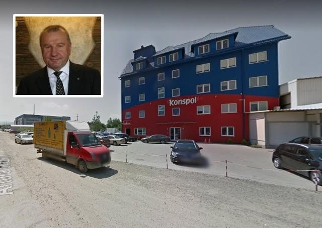 Kazimierz Pazgan sprzedał amerykańskiej firmie m.in. zakład znajdujący się w Nowym Sączu przy ul. Grottgera 40