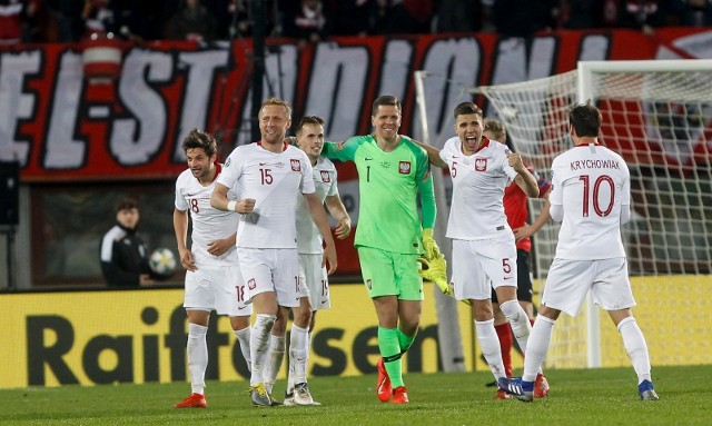 Reprezentacja Polski na 20. miejscu rankingu FIFA