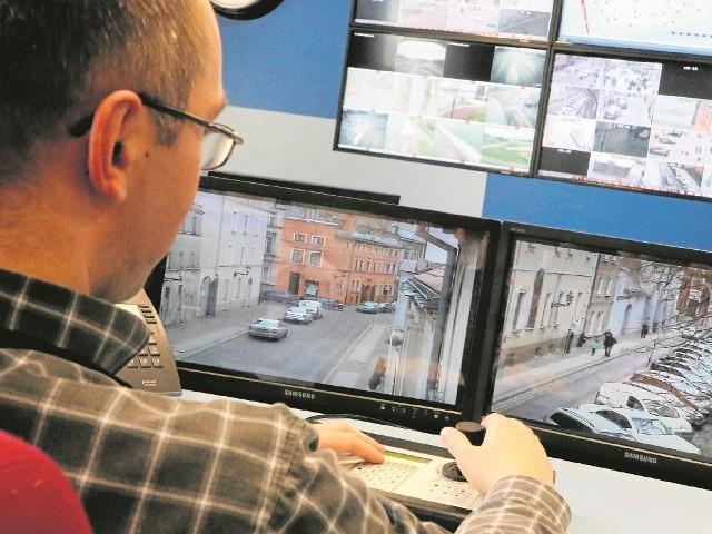 Do obsługi wszystkich kamer powstaną  dwa stanowiska operatorskie