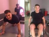 Pochodzący z gminy Morawica, Karol Piecyk, wstaje z wózka inwalidzkiego! Pomóżmy mu wrócić do pełnej sprawności (ZDJĘCIA, WIDEO)